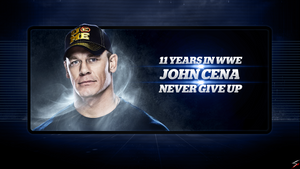 John Cena (11 Years in WWE) Wallpaper (1280x720) by skilled97
