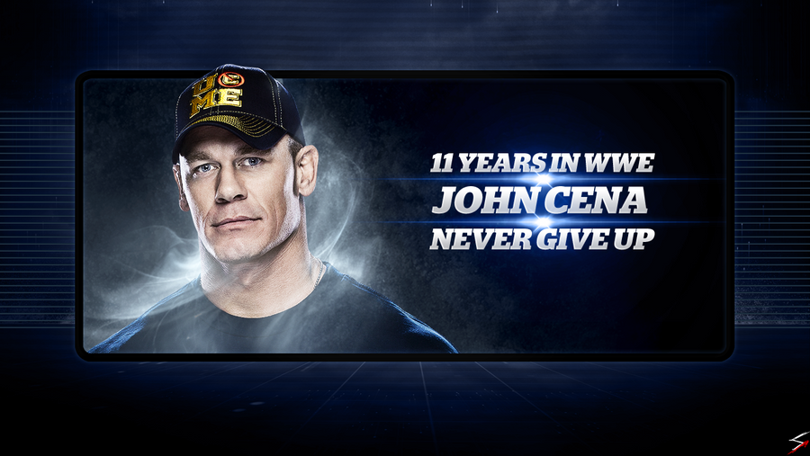 John Cena 11 Years In WWE Wallpaper 1280x720 By Skilled97