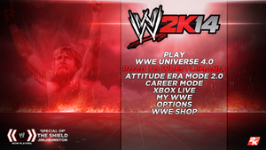 WWE2K14 - Menu Screen (Custom) by skilled97