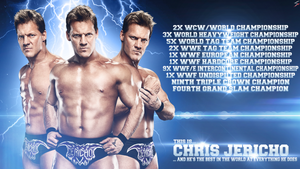 WWE Chris Jericho Wallpaper - 'I'M THE BEST!' by skilled97