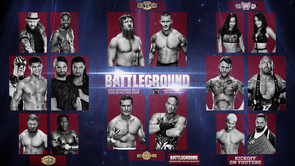 Match Wwe Raw Wwe Battleground 2013 Match
