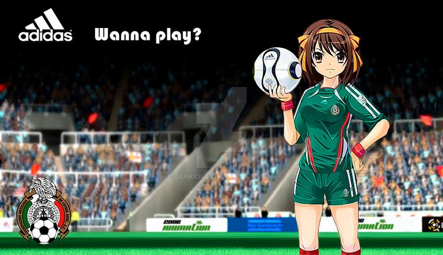 Suzumiya Haruhi no Soccer by Darkique