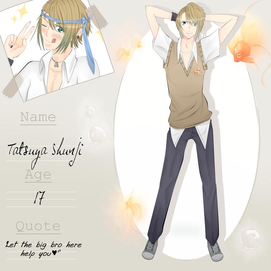 [Kingyo High] : Tatsuya Shinji by Ley-kun