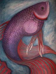 My Fish Beta by roxioxx