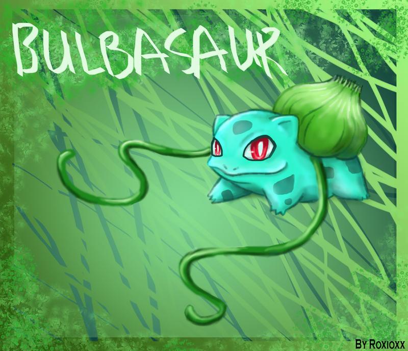 bulbasaur wallpaper 1 by roxioxx on deviantart