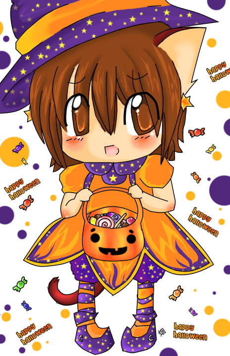 Kawaii Halloween by Hatty-hime on DeviantArt