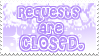 .:Request Stamp CLOSED:. by HatakeSage