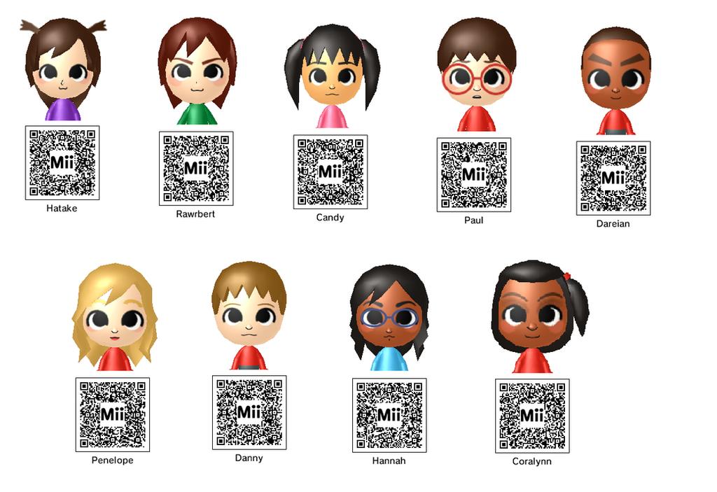 Tomodachi Life 3Ds Qr Codes - Tomodachi Life Qr Code Chibi