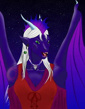 Curran the Dragoness