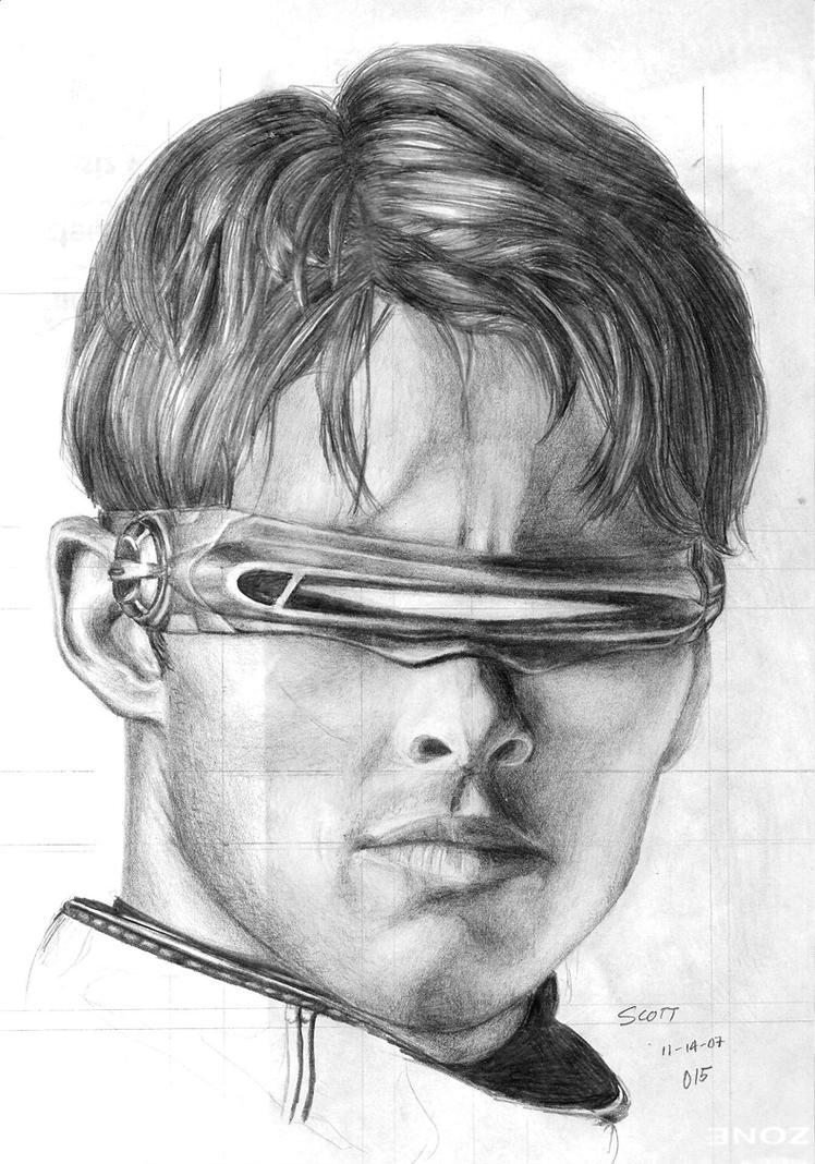 Portrait Cyclops by Hiroki8