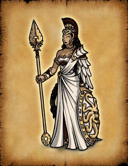 Olympians: Athena by Hiroki8