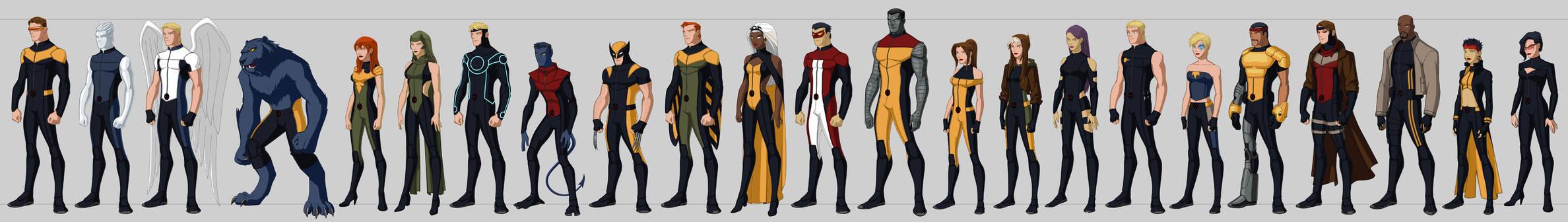 X-men Costume Redesigns