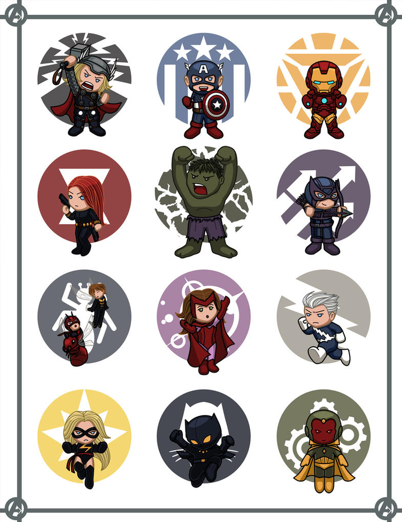 Avengers Mini by Hiroki8