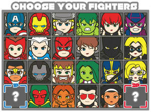 Avengers Fighters