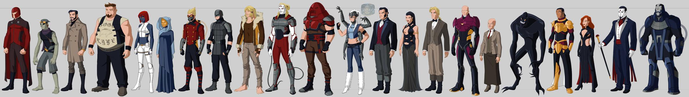 X-villains Costume Redesigns