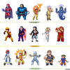 X-villains sprites lineup by Hiroki8
