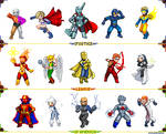 Justice League pixelart 2