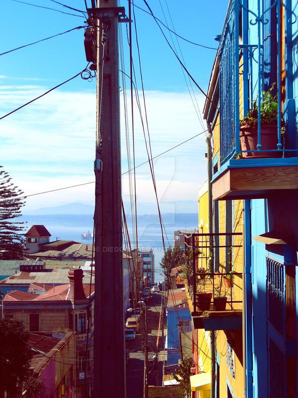 Calles de Valparaiso by diegocp