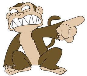 Da Evil Monkey by Julliversum