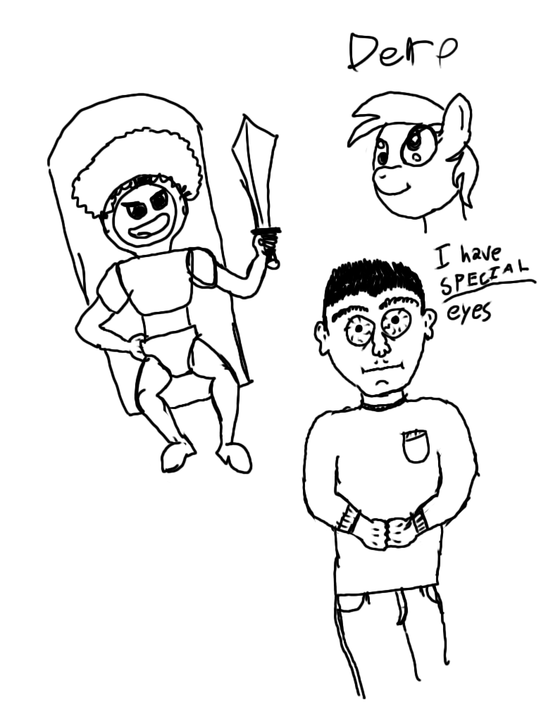 random 3am doodles by Dashmaster5000