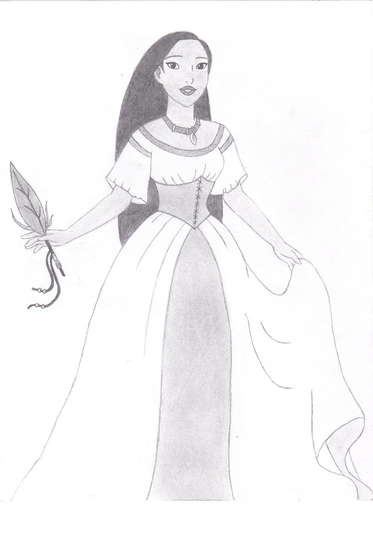 Pocahontas or Rebecca Rolf by WereEdFangirl19 on DeviantArt