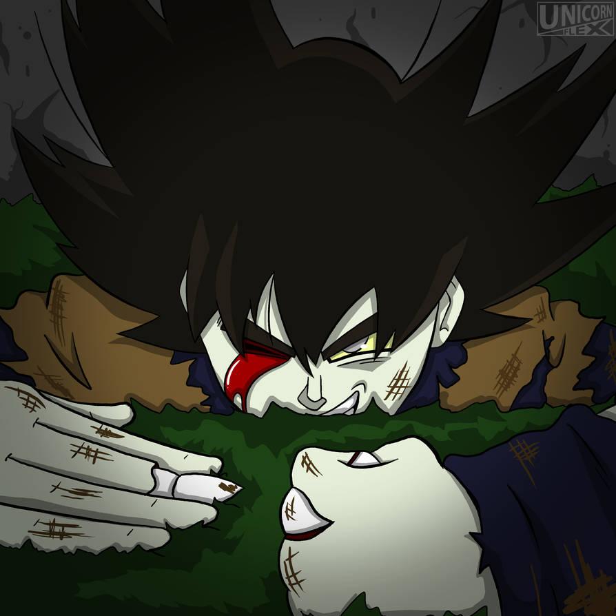 Zombie Son Goku By Cvanims On Deviantart