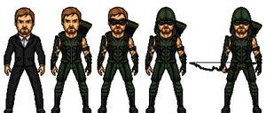 The Arrow - (Oliver Queen)