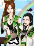Zhuge Liang x Yue Ying