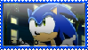 Sonic 'I Dunno' Stamp by DeathGoddess1995