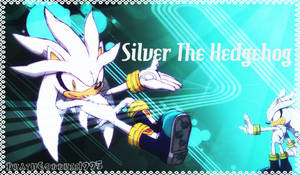 Silver the Hedgehog Wallpaper by DeathGoddess1995