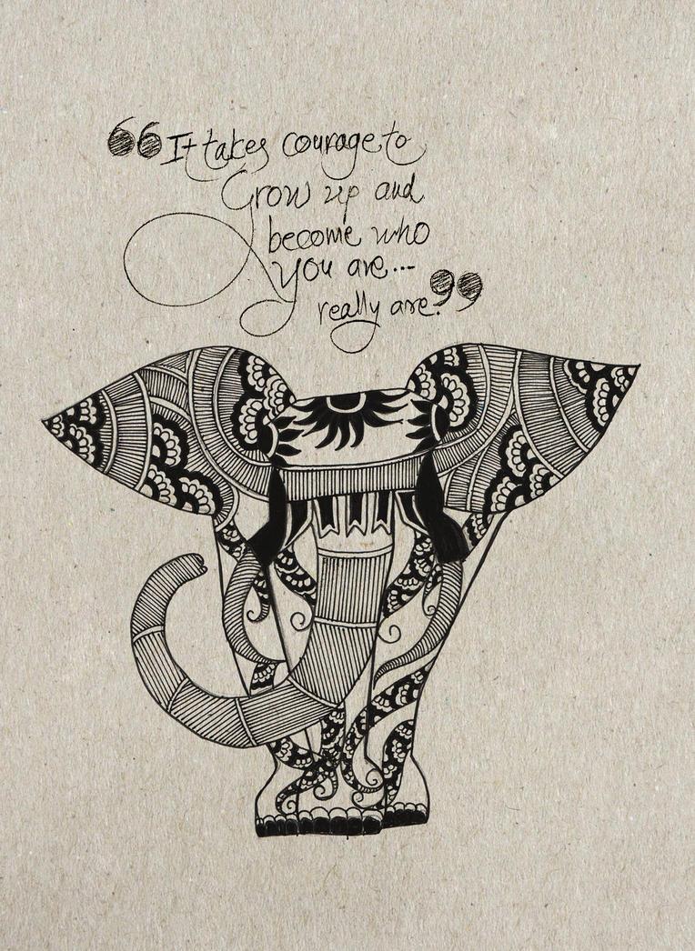 Elephant by niteshsh