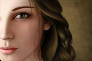 Digital Portrait Study by Roberto-Carrillo