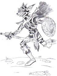 Sewer Warrior by miniboy