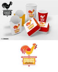 Logo Design - Gogo's Chicken by SurefootDesigns