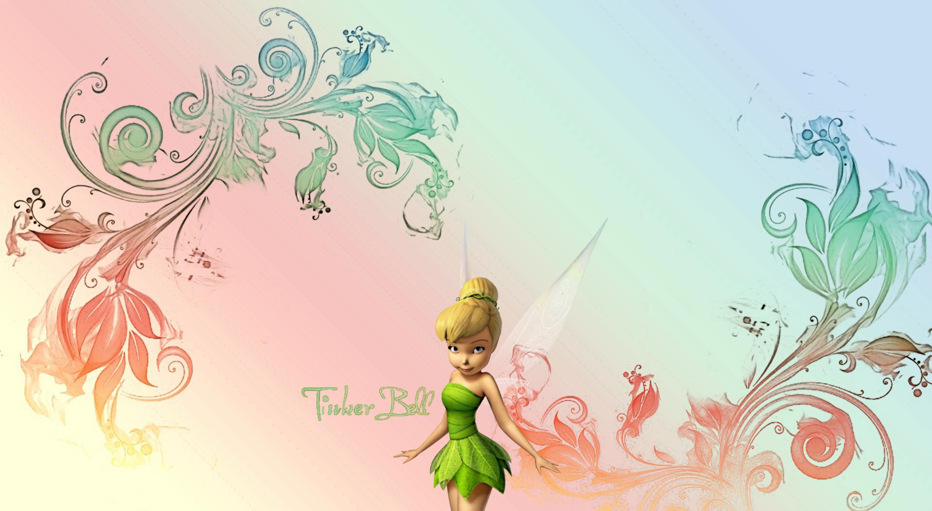 Tinkerbell Gradient Desktop Background by Fireforkx