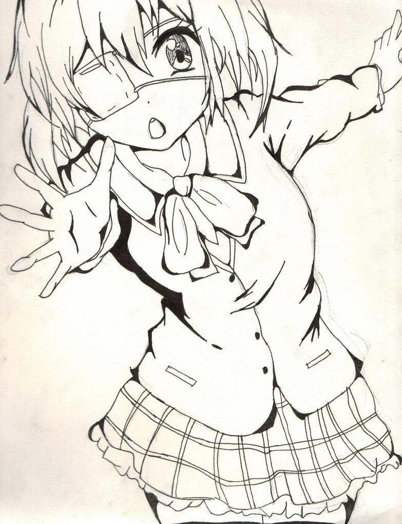 Rikka. (Chuunibyou.) by GamerGirlist