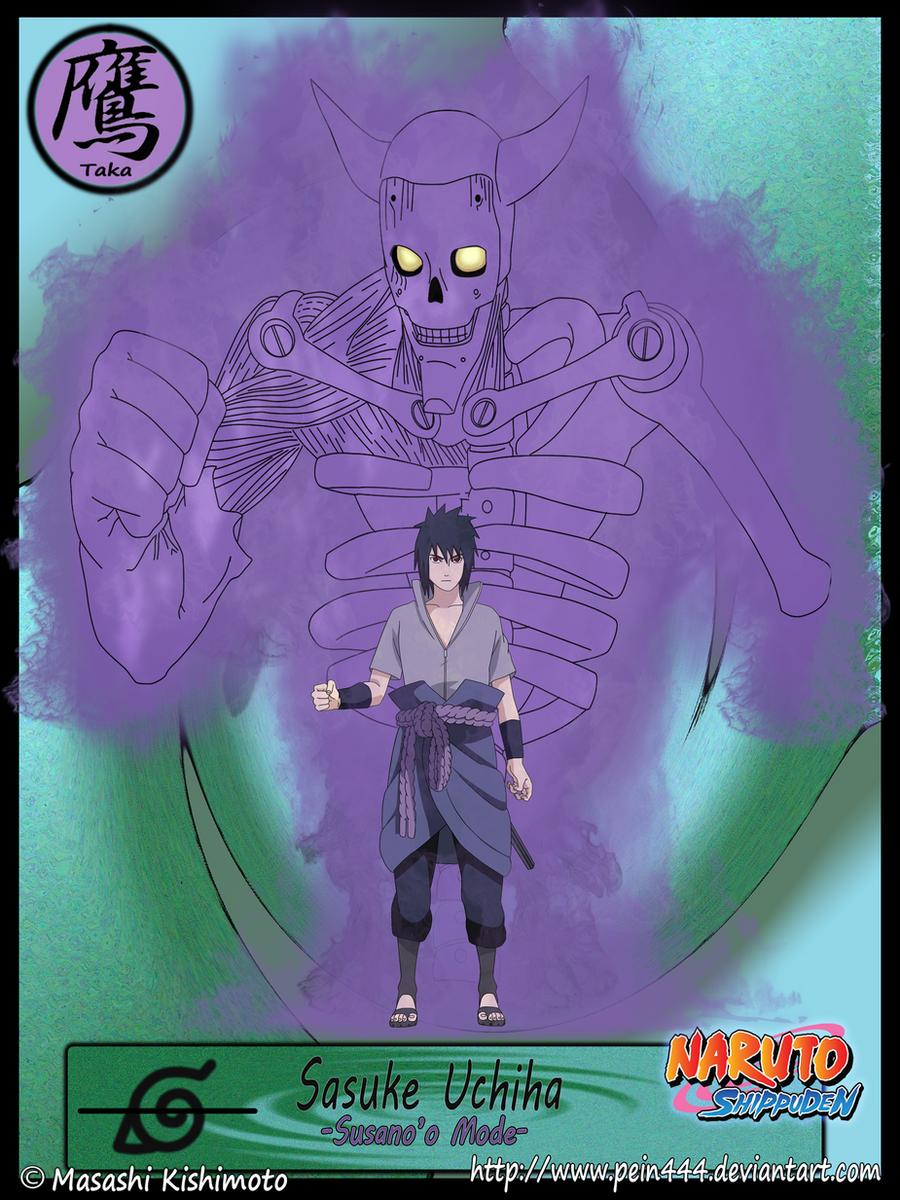 Sasuke Uchiha Susanoo Mode by ~pein444 on deviantART