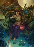 Phaya Naga Daegom by asdj
