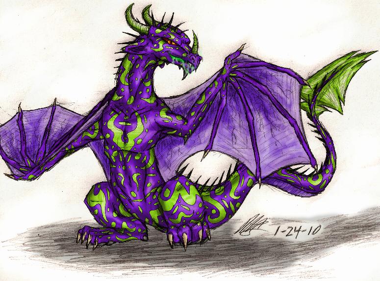 Venom Dragon by SDFloat on DeviantArt