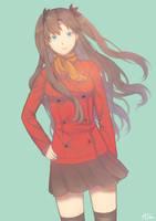 [FA]Rin Tohsaka by ALiN009