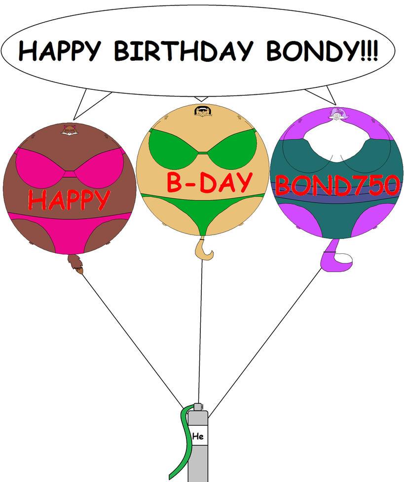 Happy Birthday Bond750 By Blbr On DeviantArt