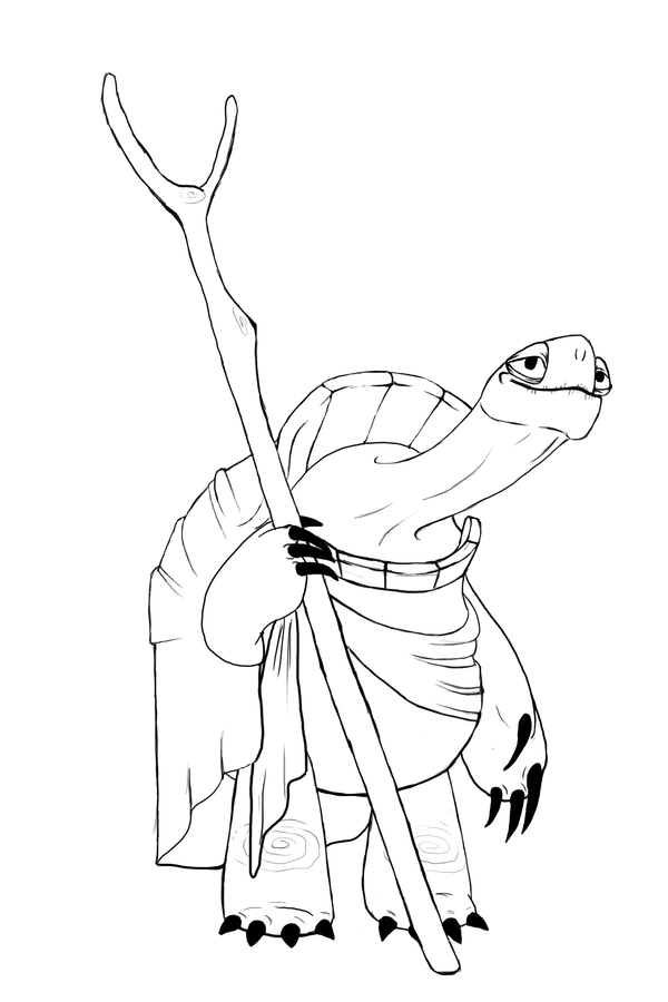 oogway coloring pages - photo#2