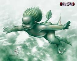 Sea elf by Anikoo