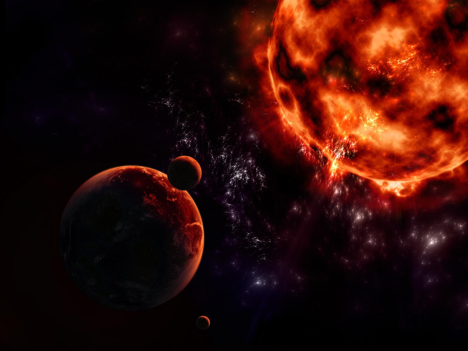 The dark sun by Anikoo
