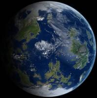 Earthlike planet by Anikoo