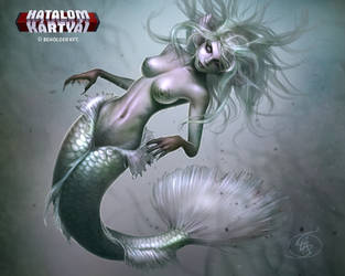 Zombie mermaid  by Anikoo