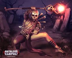 Bone Shaman by Anikoo