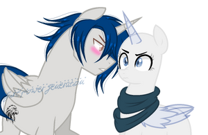 Mlp Ethan And Oc Collab! by TheFlowersDreams