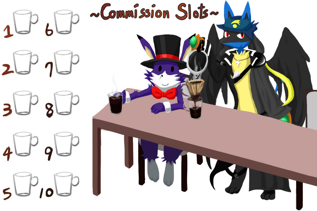 Commission Slots by Coffee-Ratteu