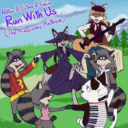 Run With Us (The Raccoons Anthem) (track art)